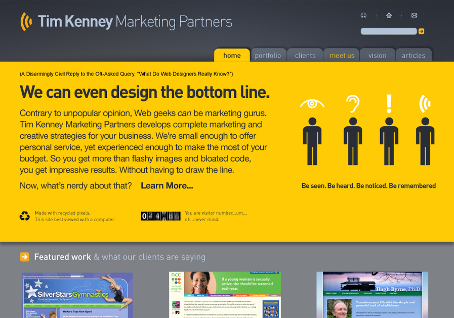 A great web design by Tim Kenney Marketing!, Washington DC, DC: