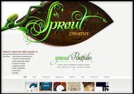 A great web design by SPROUT CREATIVE, Portland, OR: