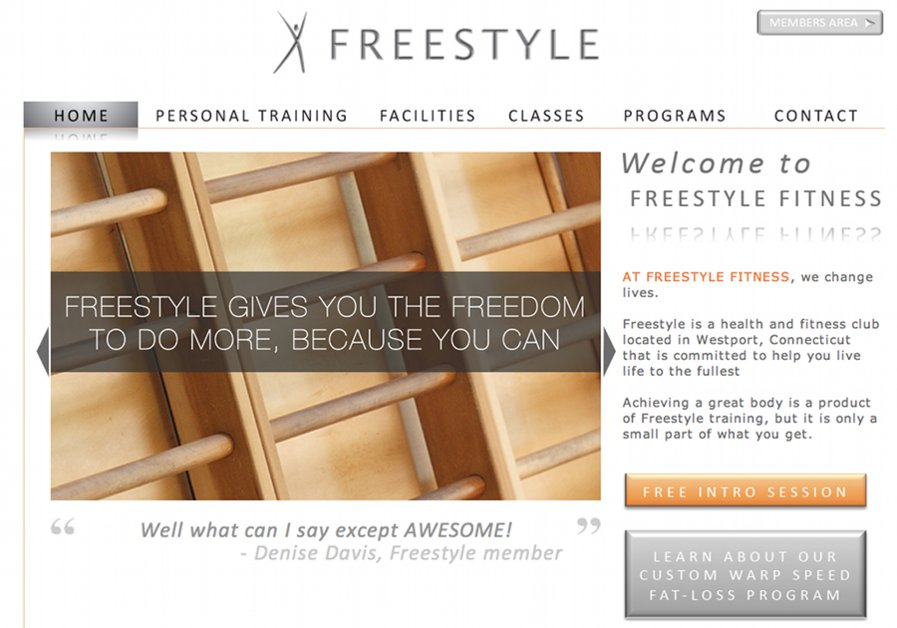 A great web design by The Early Shift, New York, NY: