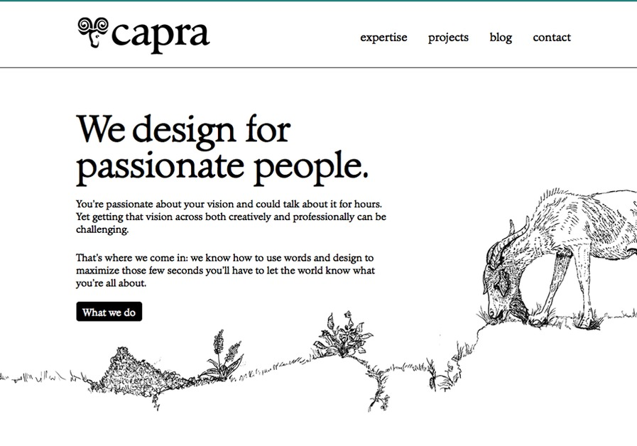 A great web design by Capra, London, United Kingdom: