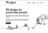 A great web design by Capra, London, United Kingdom: