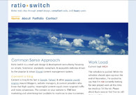 A great web design by Ratio Switch, Madison, WI: