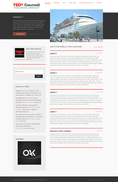 A great web design by OAK Computing, Ottawa, Canada:
