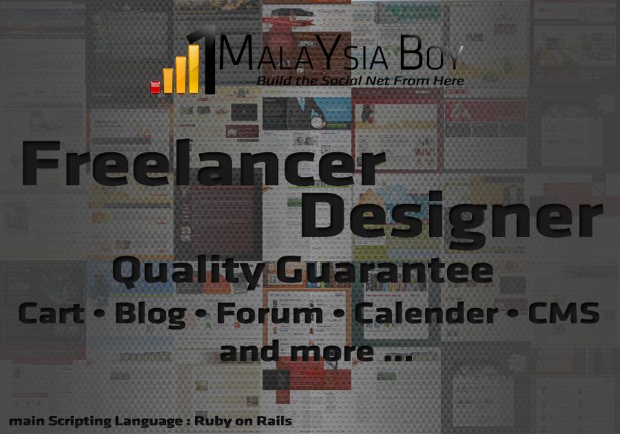 A great web design by 1 Malaysia Boy, Petaling Jaya, Malaysia: