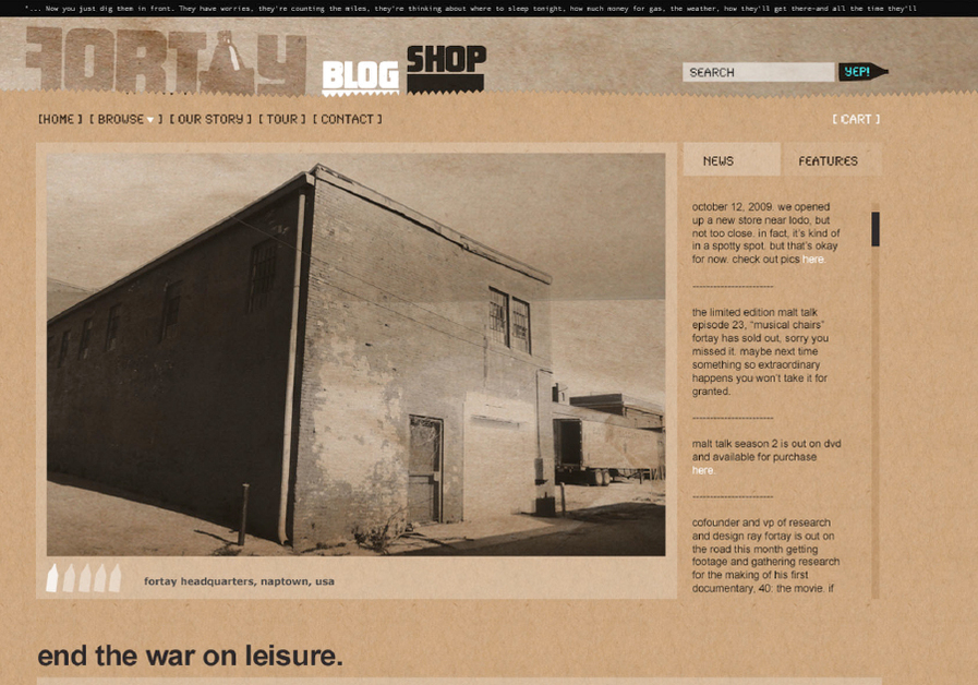 A great web design by Mioduski Design & Advertising, Denver, CO: