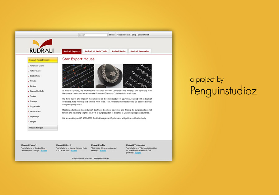 A great web design by Penguinstudioz, Pune, India: