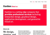 A great web design by Farefore Co., Beijing, China: