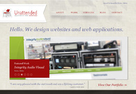 A great web design by Unattended Media, Boise, ID: