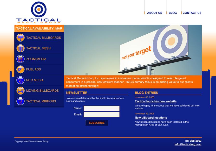 A great web design by Viviré: Interactive Studio, San Juan, Puerto Rico: