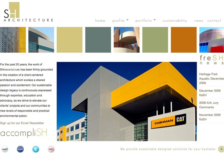 A great web design by Foundry75, Las Vegas, NV: