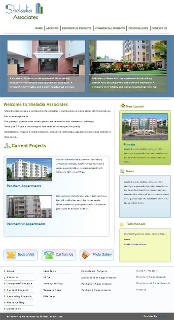 A great web design by Triston Software Solutions Pvt Ltd, Ahmedabad, India: