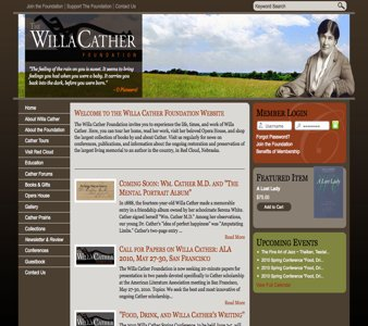 A great web design by Pickering Creative Group, Lincoln, NE: