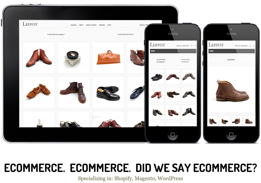 A great web design by Command C, New York, NY: Responsive Website, E-Commerce , Retail , Magento