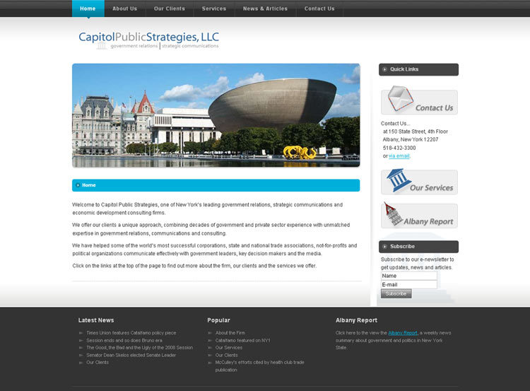 A great web design by Black Sheep Web Design, Albany, NY:
