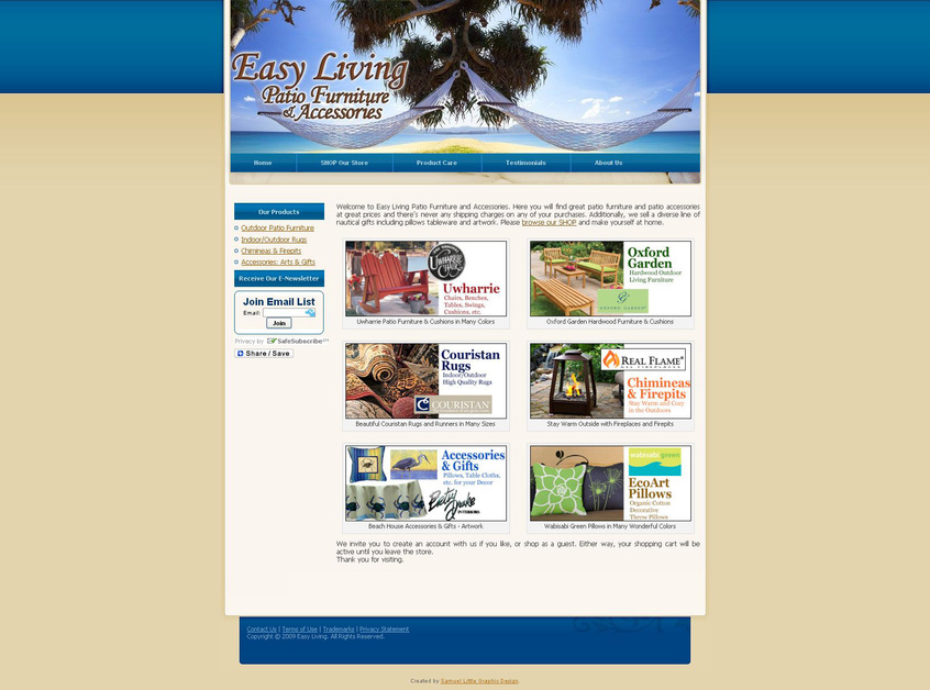 A great web design by Kermit Woodall, Richmond, VA: