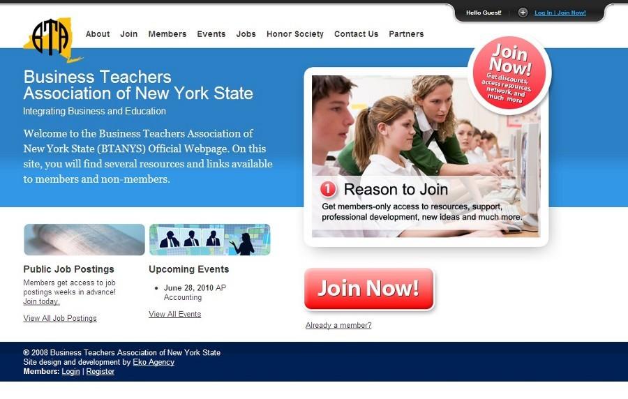 A great web design by Eko Agency, Buffalo, NY: