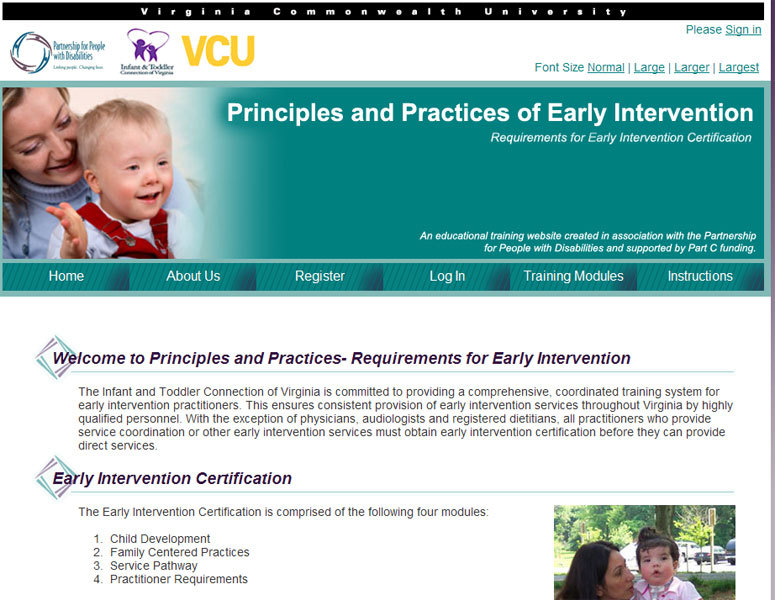A great web design by IT and Communications Company, Richmond, VA: