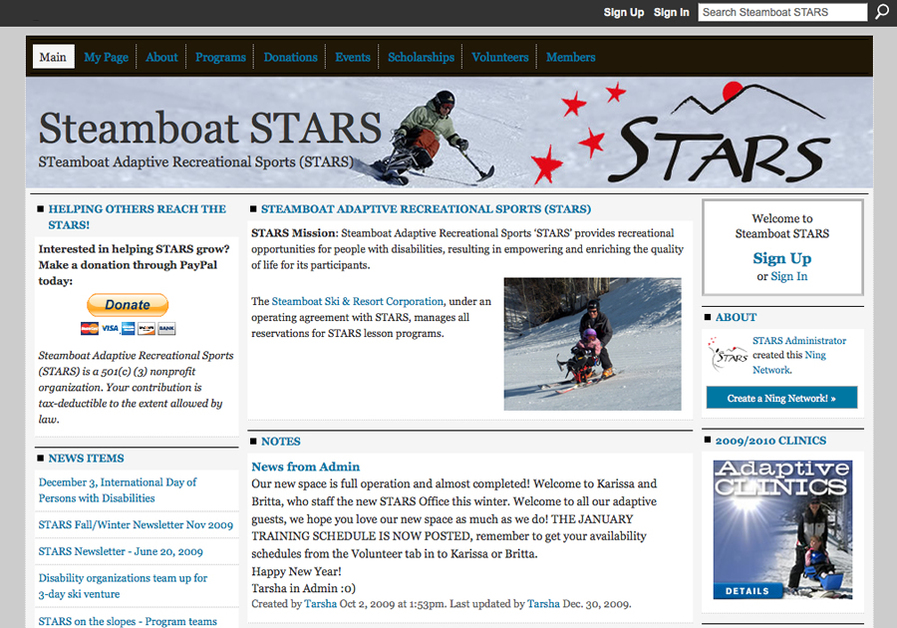 A great web design by WIREBOARD, Denver, CO: