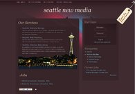 A great web design by Seattle New Media website design, Seattle, WA: