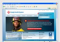 A great web design by The Malabar Front, Atlanta, GA: