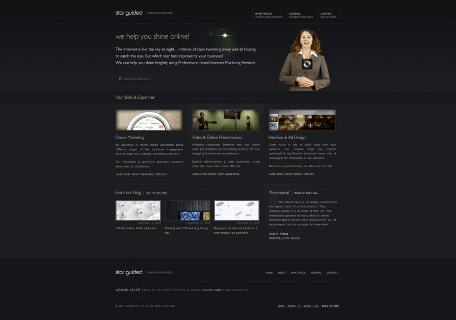A great web design by Star Guided Media Ltd., London, United Kingdom: