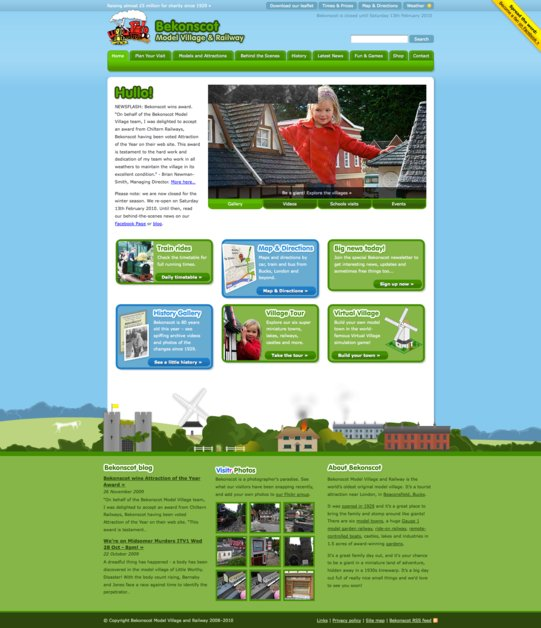 A great web design by Nick Dunn, London, United Kingdom: