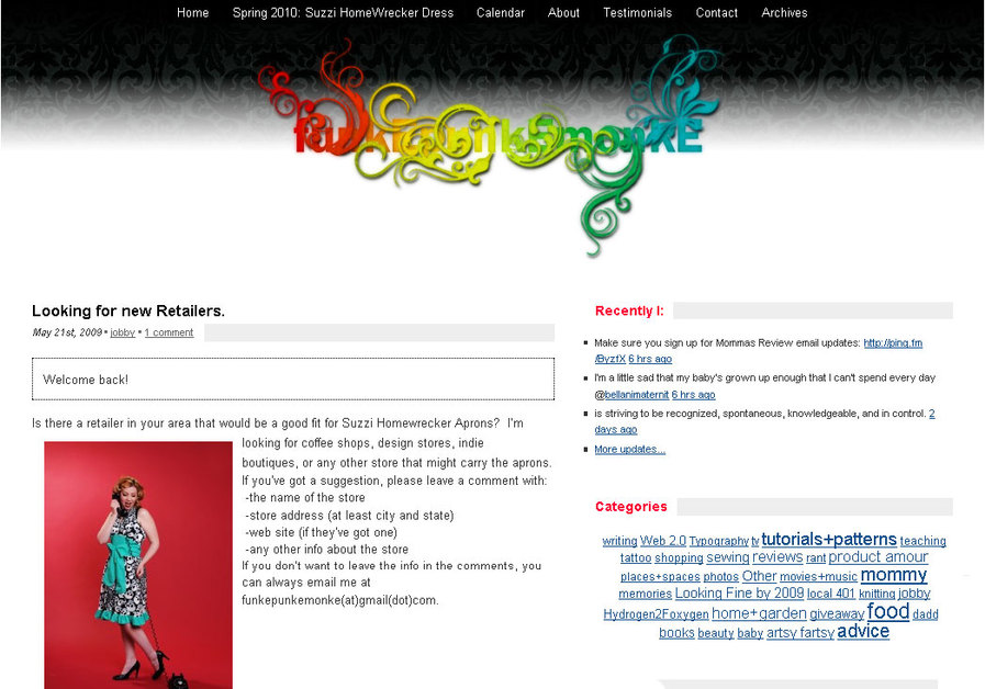 A great web design by funkEpunkEmonkE, Providence, RI:
