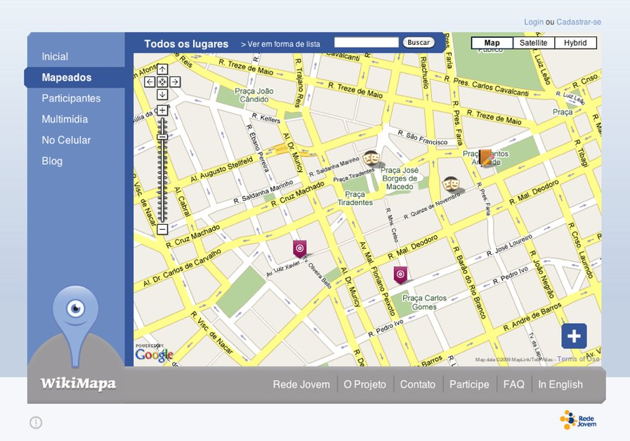 A great web design by INCOMUM Design, Rio de Janeiro, Brazil: