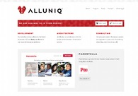 A great web design by Alluniq, Warsaw, Poland: