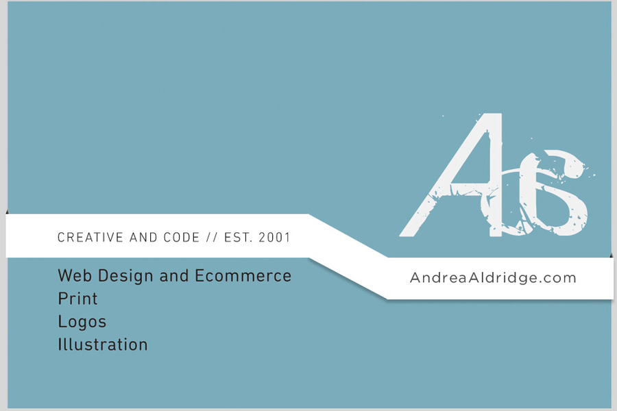 A great web design by AndreaAldridge.com, New York, NY: