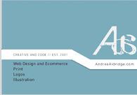 A great web design by AndreaAldridge.com, New York, NY: