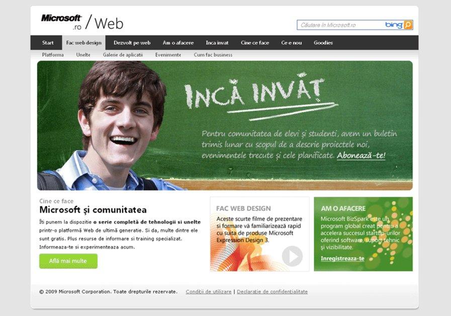 A great web design by Silvius, Romania, Romania:
