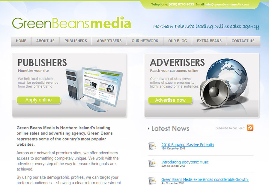A great web design by Website NI, Belfast, United Kingdom: