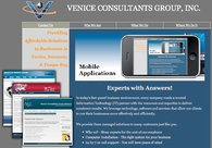 A great web design by Venice Consultants Group, Inc., Venice, FL: