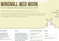 A great web design by Windmill Web Work, Cleveland, OH: