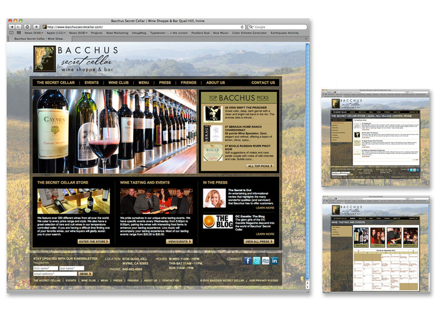 A great web design by Root Creative Group, Orange County, CA: