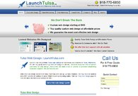 A great web design by LaunchTulsa.com, Tulsa, OK: