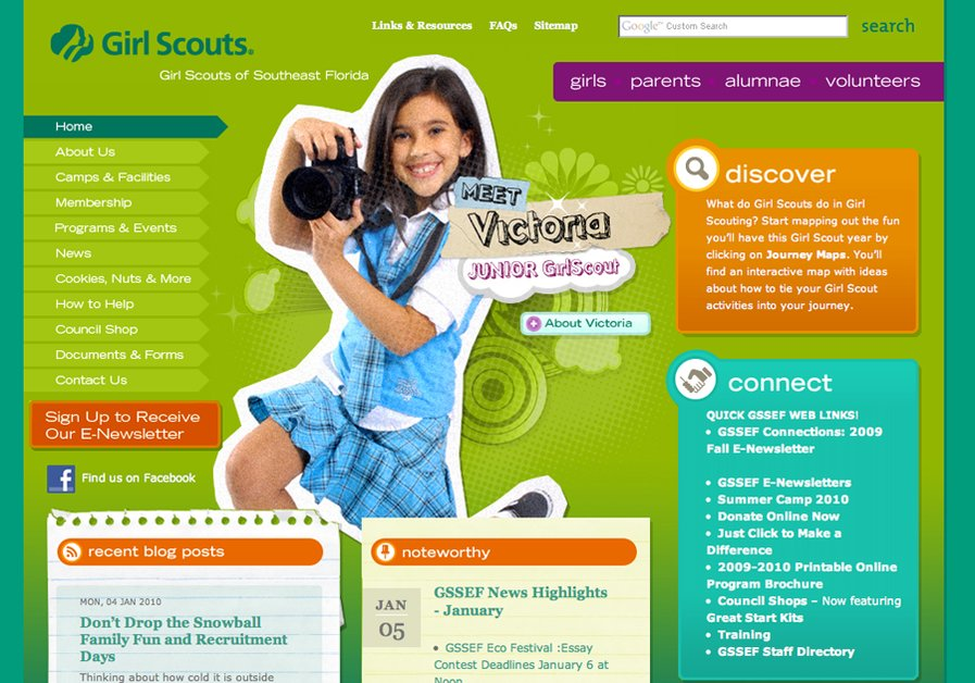 A great web design by CNP, Orlando, FL: