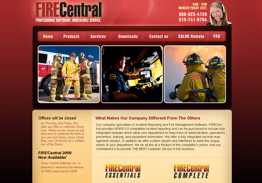 A great web design by Net Affordable Inc., Raleigh, NC: