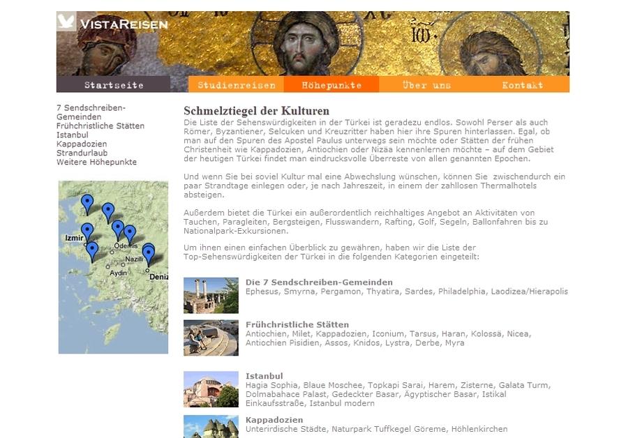 A great web design by Vista Interactive, Izmir, Turkey: