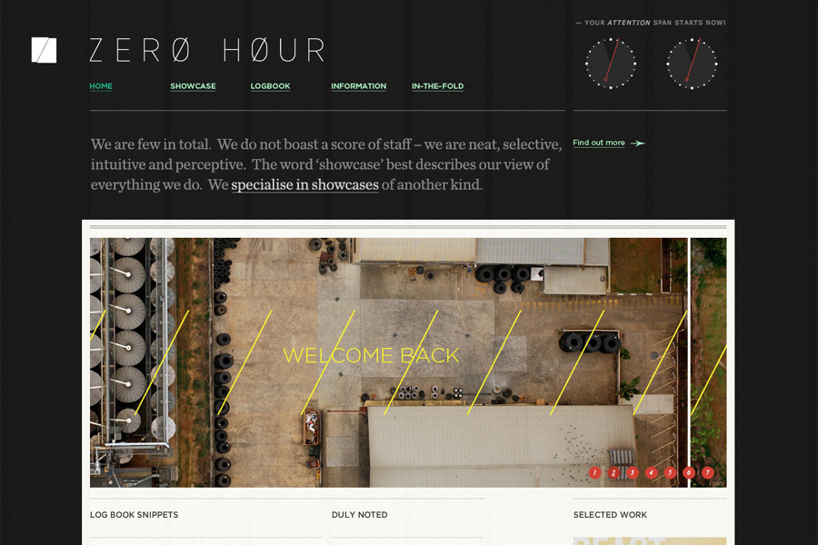 A great web design by ZERO HOUR, Brisbane, Australia: