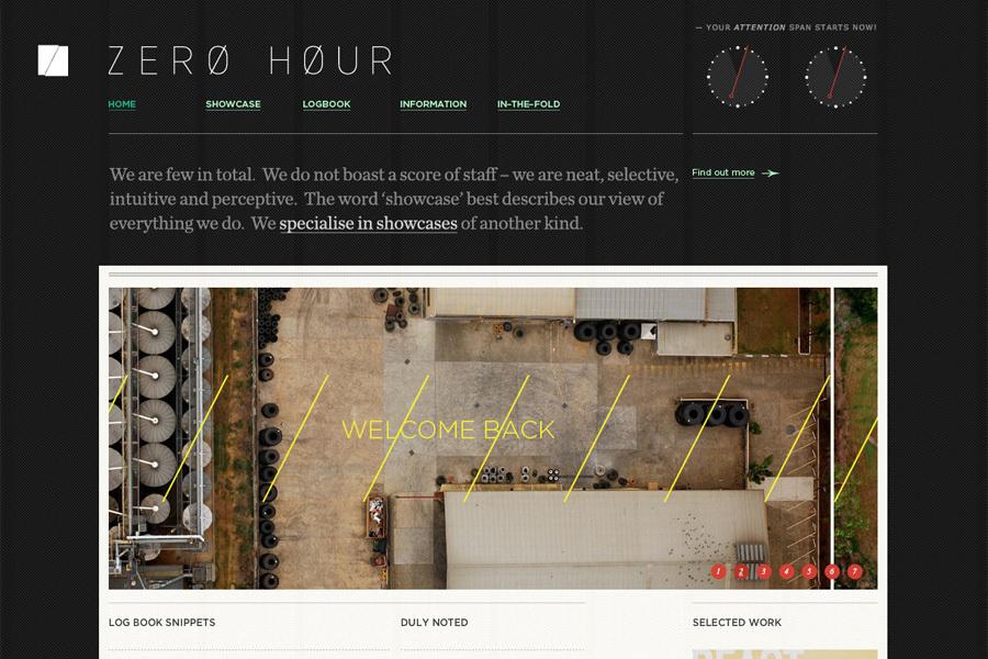 A great web design by ZERO HOUR, Brisbane, Australia: