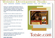 A great web design by Totsie.com Website Studio, Asheville, NC:
