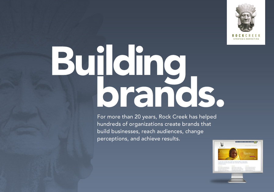 A great web design by Rock Creek Strategic Marketing, Washington DC, DC: