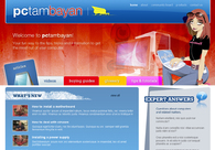 A great web design by TeamSparrow, Inc., Manila, Philippines: