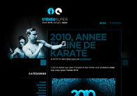 A great web design by Stéréosuper, Nantes, France:
