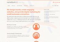 A great web design by Nameblank, London, United Kingdom: