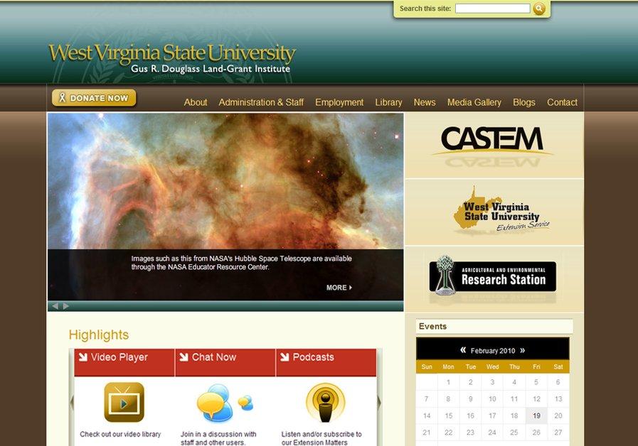 A great web design by Dream Catcher Creative, Charleston, WV: