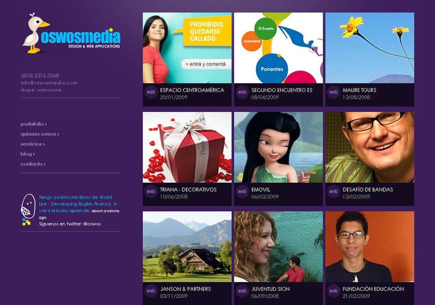 A great web design by Oswosmedia, San Salvador, El Salvador: