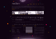 A great web design by nocturn, Bucharest, Romania: